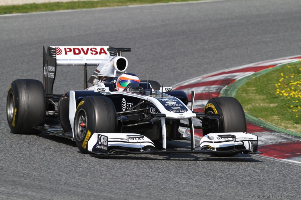 10.03.2011- Rubens Barrichello (BRA), Williams FW33