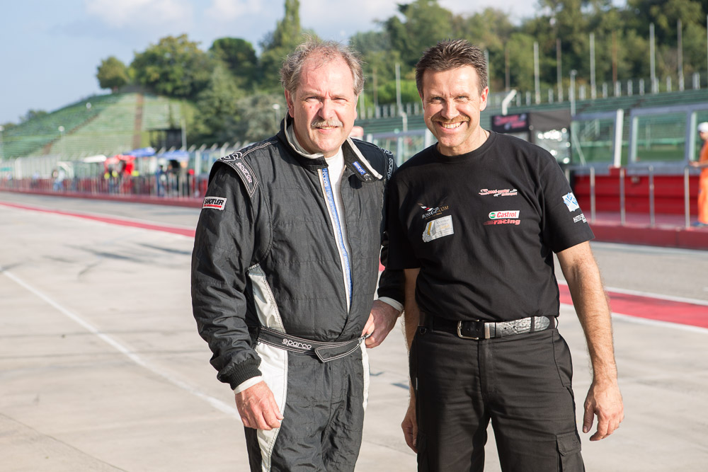 Hans Laub and Teamchef Lehmann