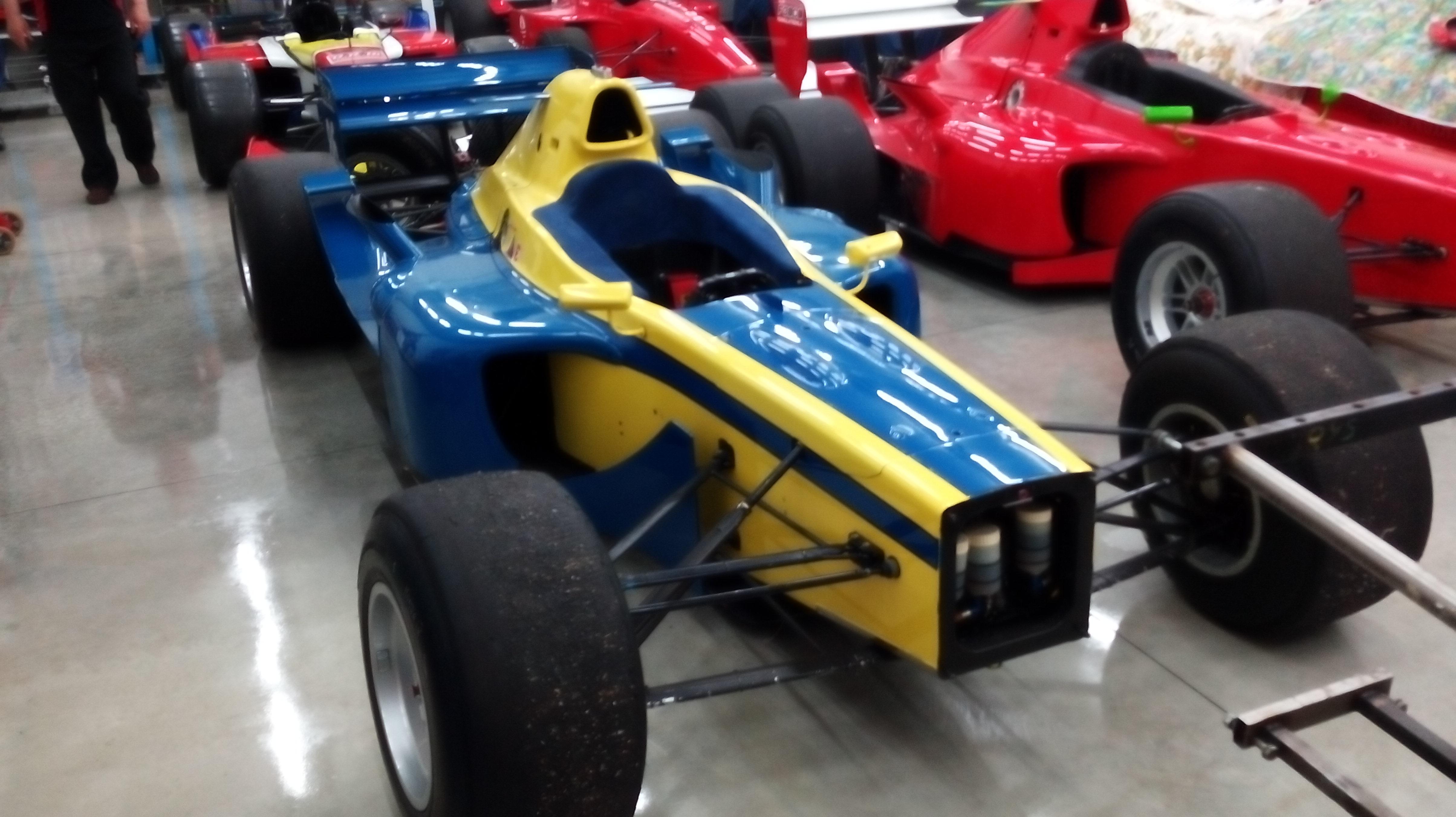 lola f3000 022 con motore