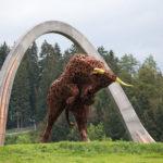 Das Wahrzeichen des Red Bull Ring: der Bulle