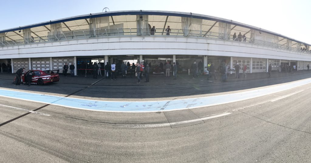 BOSS GP Paddock in Hockenheim.
