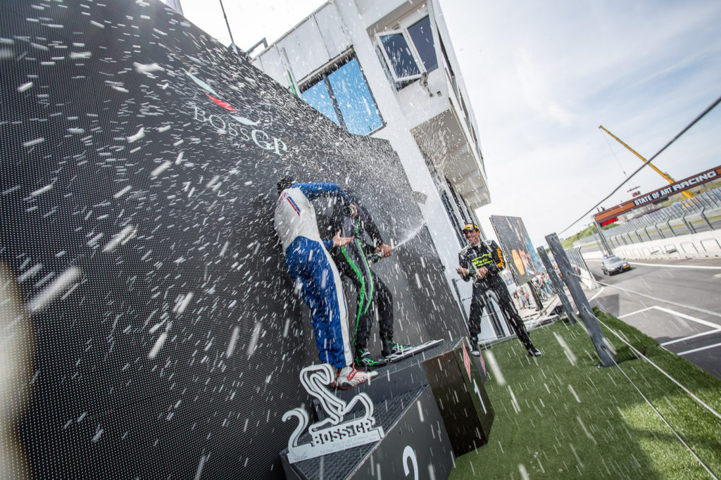 Champagne in Zandvoort 2017 after season race 4.