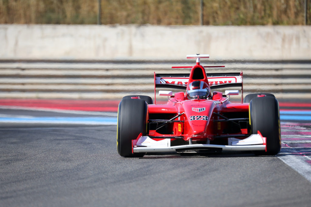 Armando Mangini during Qualifying at Paul Ricard 2017.