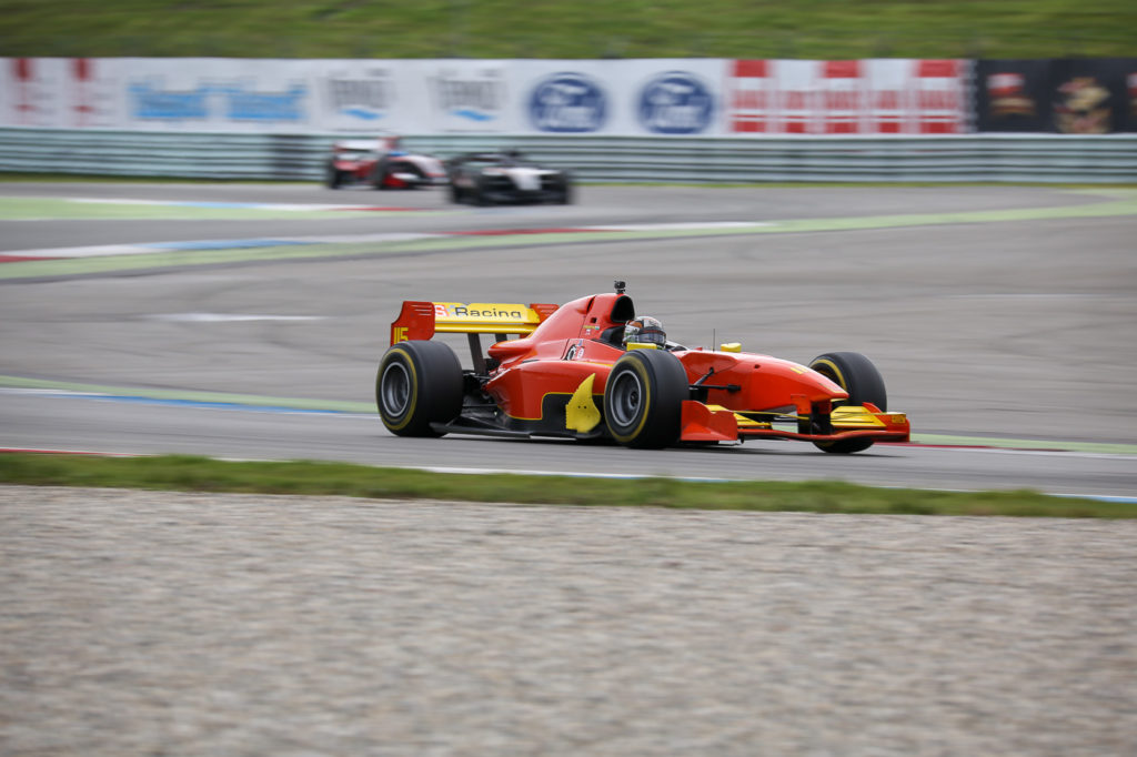 Mahaveer Raghunathan on track in Assen 2017.
