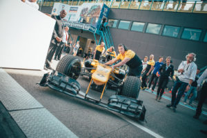 One of the highlights: Demo laps from Carlos Sainz Jr. in his Renault Formula 1 car