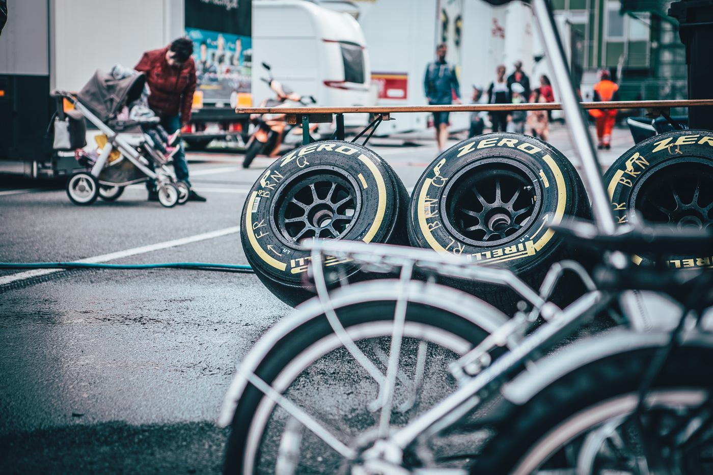 "Behind the scenes at ""Masaryk Racing Days"" in Brno 2017."