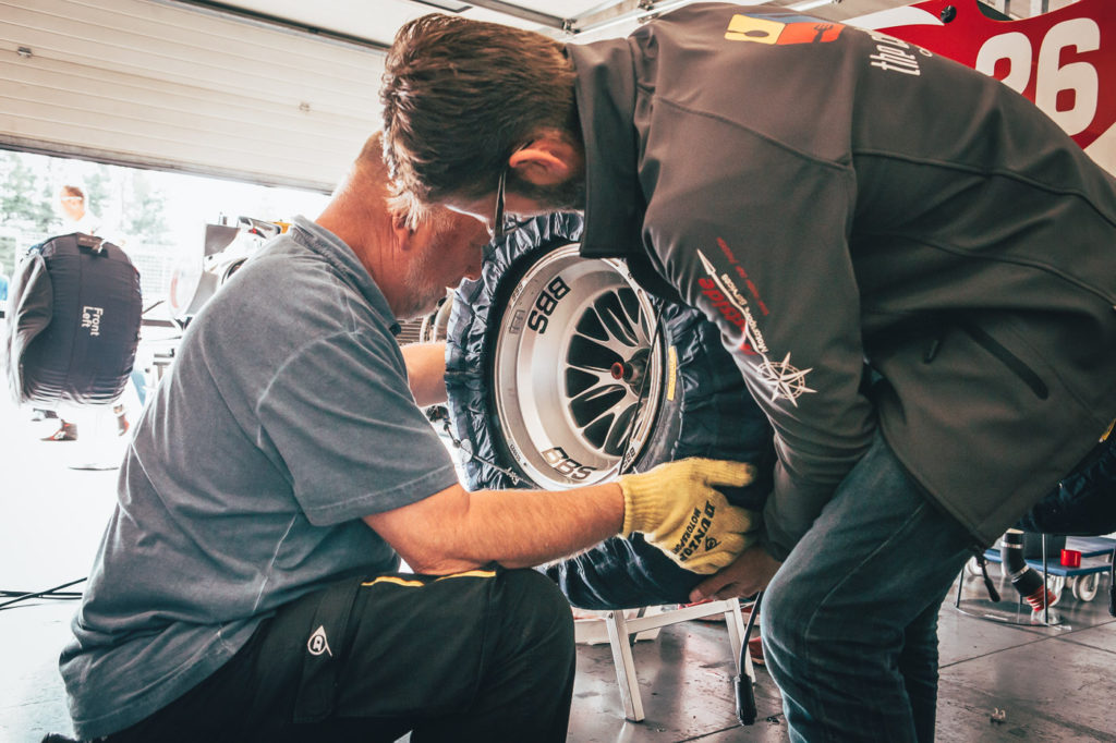 Behind the scenes of BOSS GP.