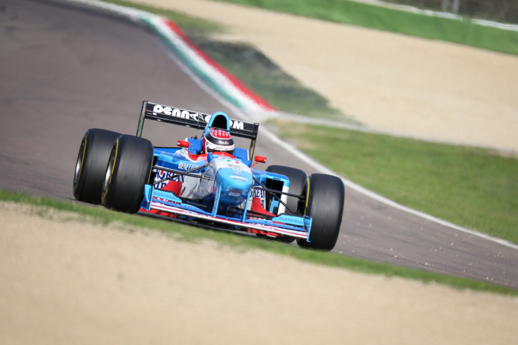 Second free practice in Imola 2017.