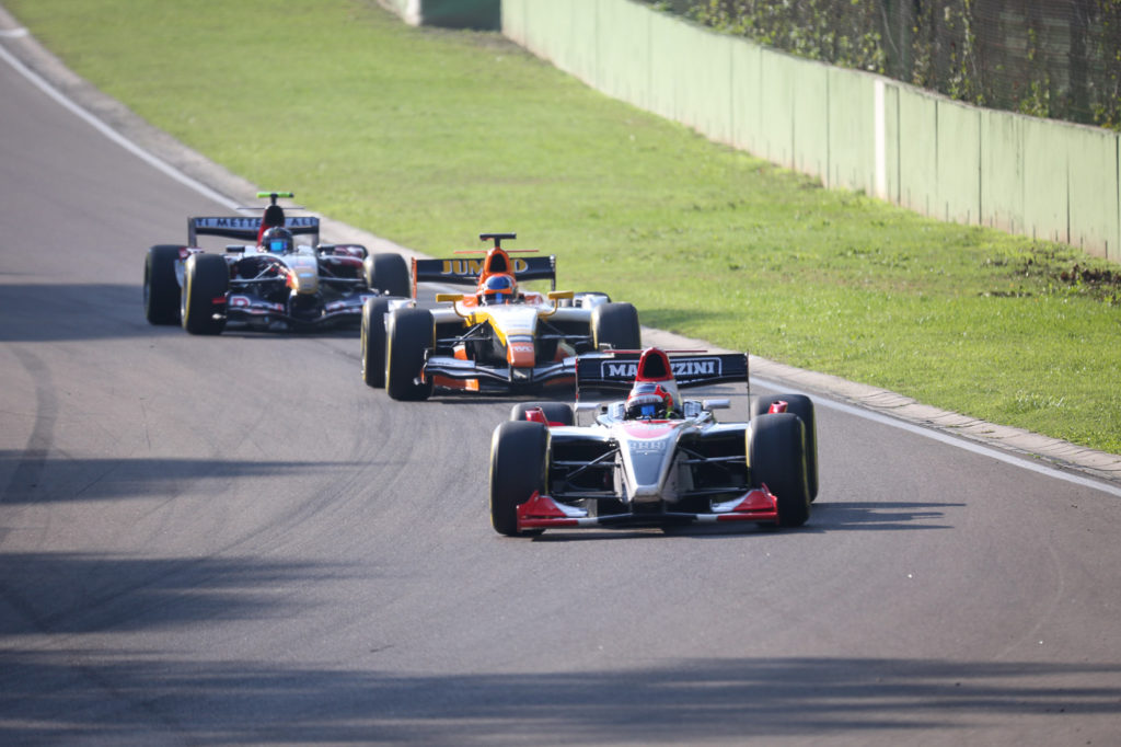 Qualifying in Imola 2017.