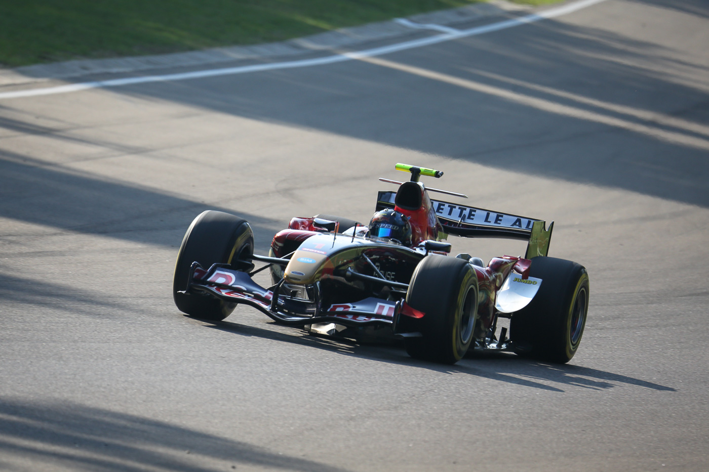 Ingo Gerstl on track in Imola 2017.