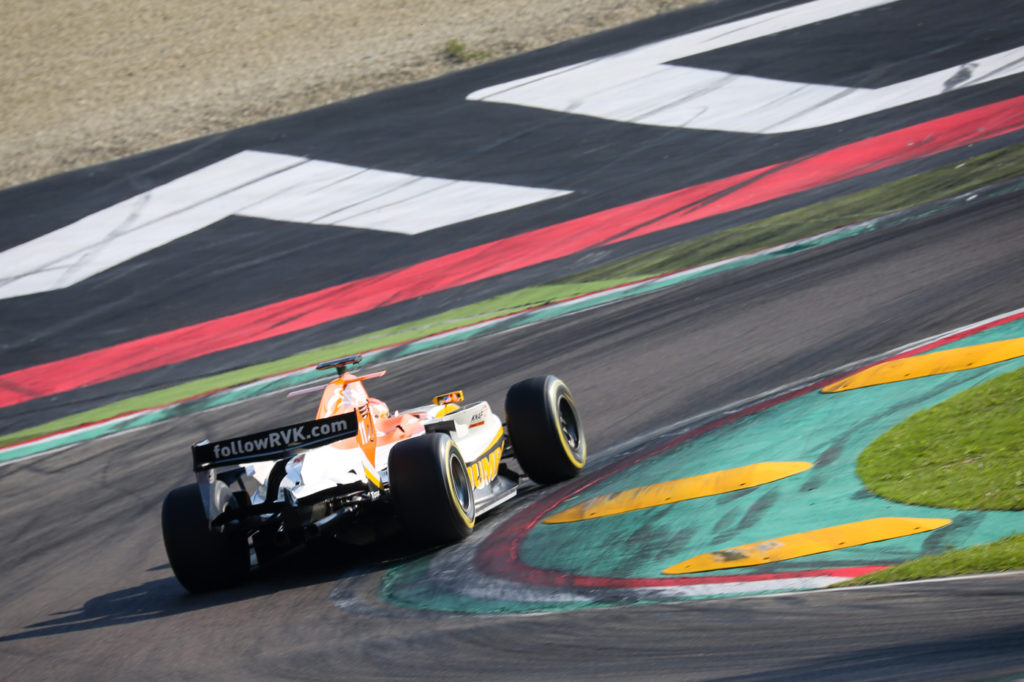 Rinus van Kalmthout during Qualifying on track in Imola 2017.