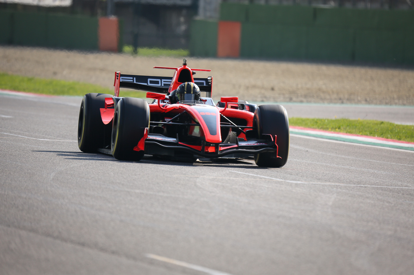 Florian Schnitzenbaumer during Qualifying in Imola 2017.