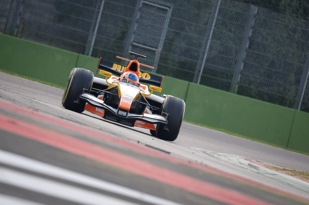 Rinus van Kalmthout on track in Imola 2017.
