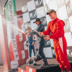 Podium ceremony of OPEN class in Imola 2017.
