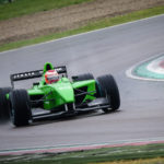 Martin Kindler racing to P3 in Imola 2017.