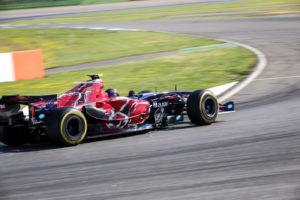 Ingo Gerstl fastest in his Toro Rosso