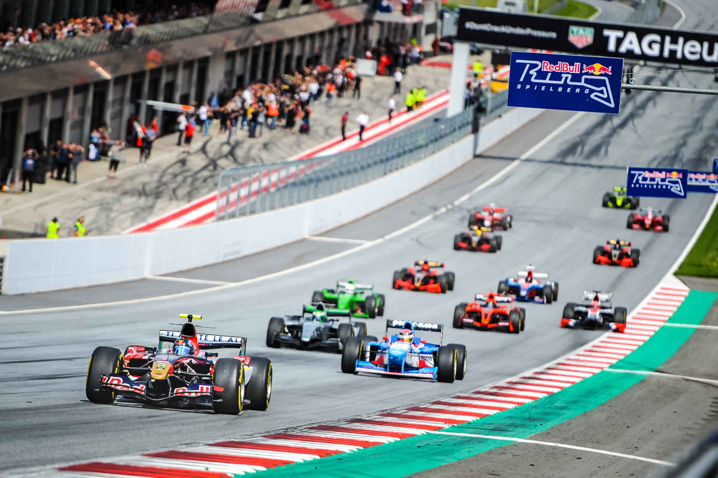 Start for Race 1 in Red Bull Ring