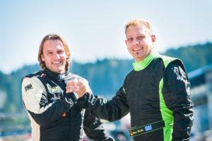 Championship duel between Florian Schnitzenbaumer (l.) and Andreas Fiedler (r.)