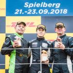 FORMULA podium (f.l.): Andreas Fiedler, Alain Valente and Peter Göllner